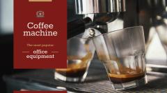 Coffee Machine Sale Brewing Drink