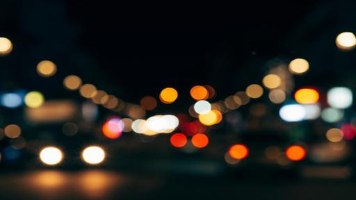 Glare Of The Night Citylights