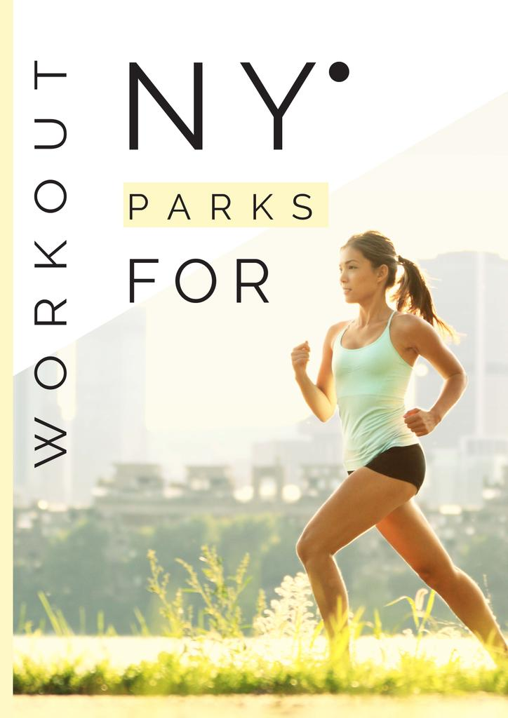 Workout in New York parks — Modelo de projeto