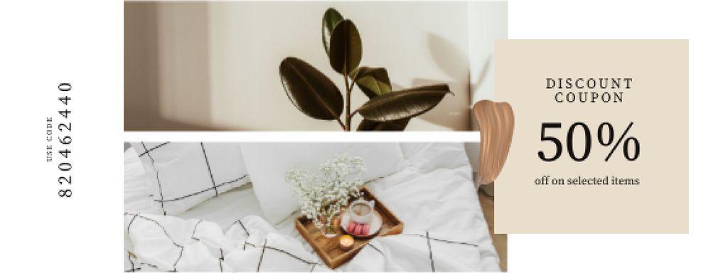 Home Items offer with cozy Interior — Crear un diseño