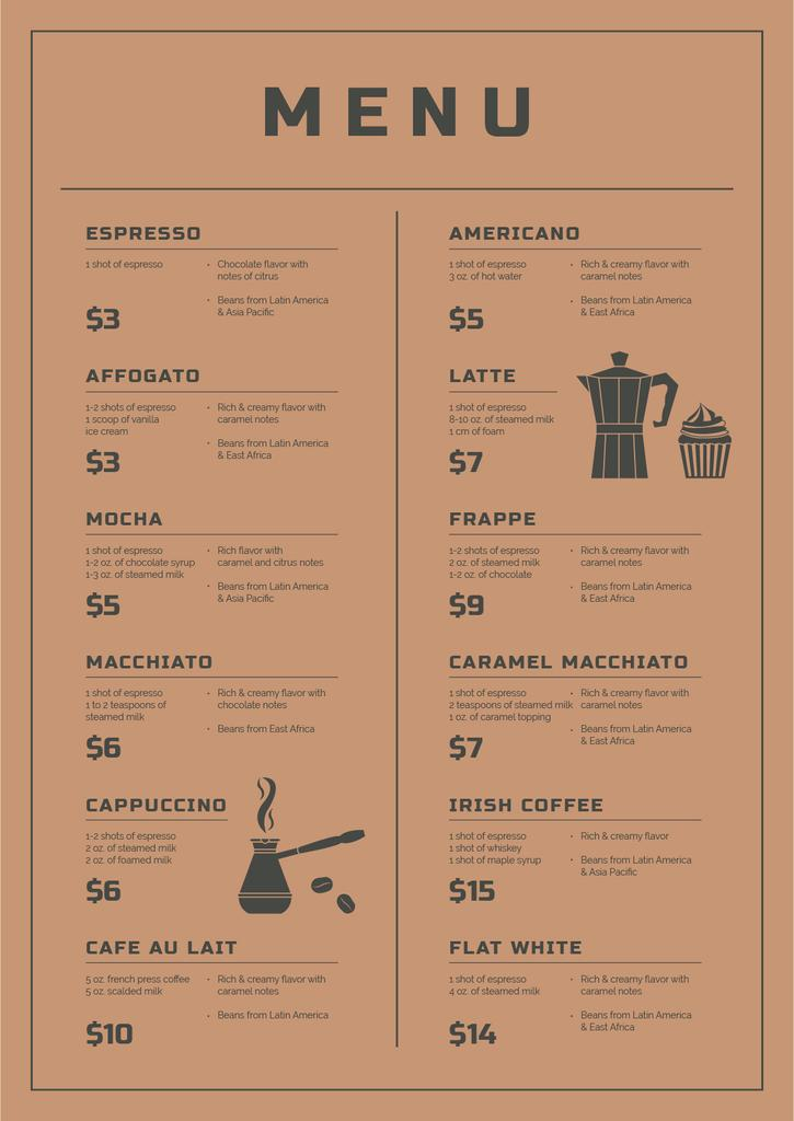 Coffee Shop promotion — Create a Design