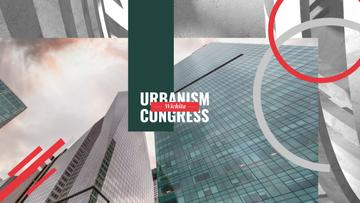 Urbanism Conference Advertisement Modern Skyscrapers