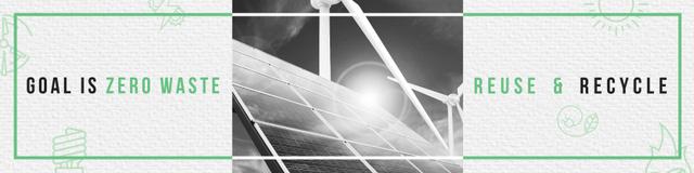 Szablon projektu Concept of Conserve energy for goal Twitter