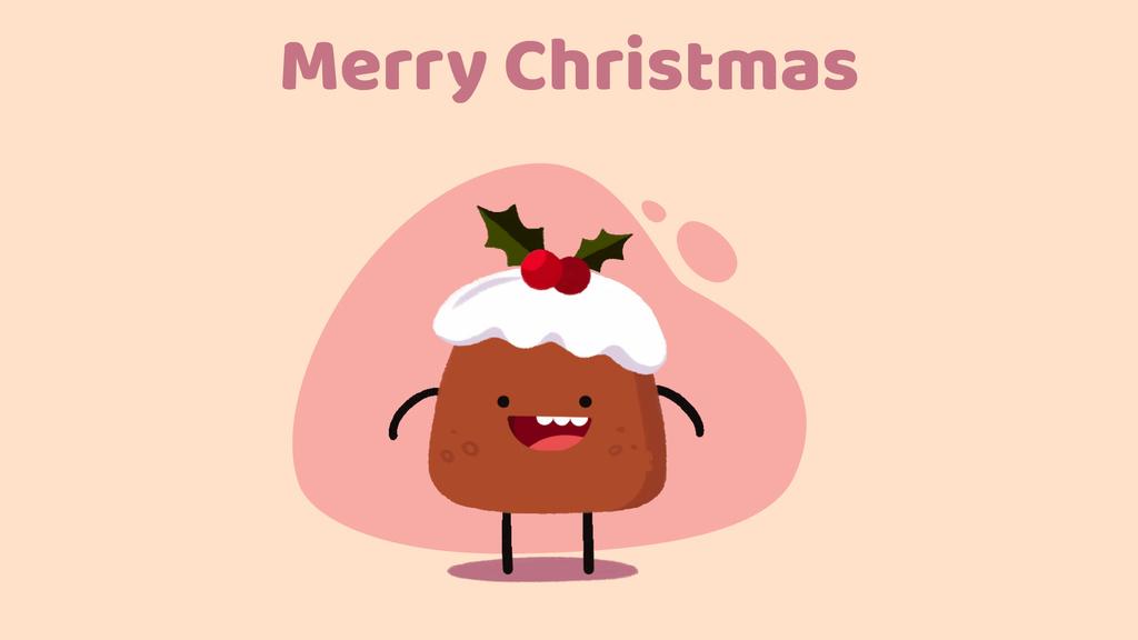 Happy Christmas pudding — Crear un diseño