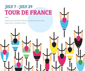 Tout de France 2018 postcard