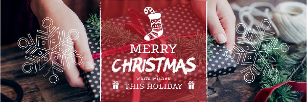 Merry Christmas card — Створити дизайн