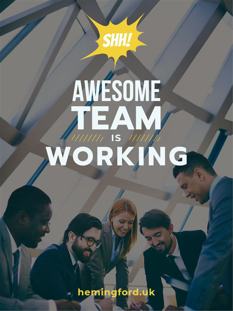group of business people working together, teamwork concept — Créer un visuel