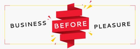 Modèle de visuel Business Quote on Red Ribbon - Tumblr
