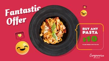 Restaurant Promotion Italian Pasta Dish | Full Hd Video Template
