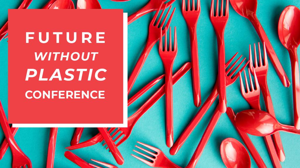 Crowdfunding Platform Red Plastic Tableware —デザインを作成する