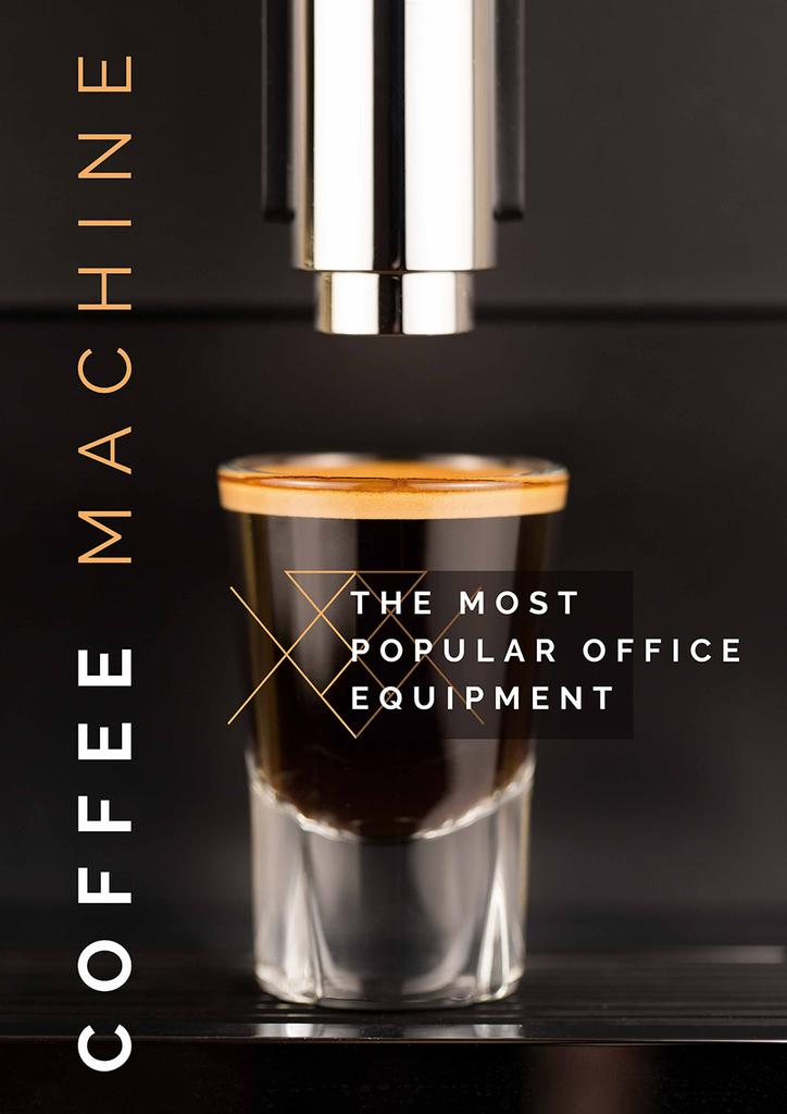 Coffee machine Offer — ein Design erstellen