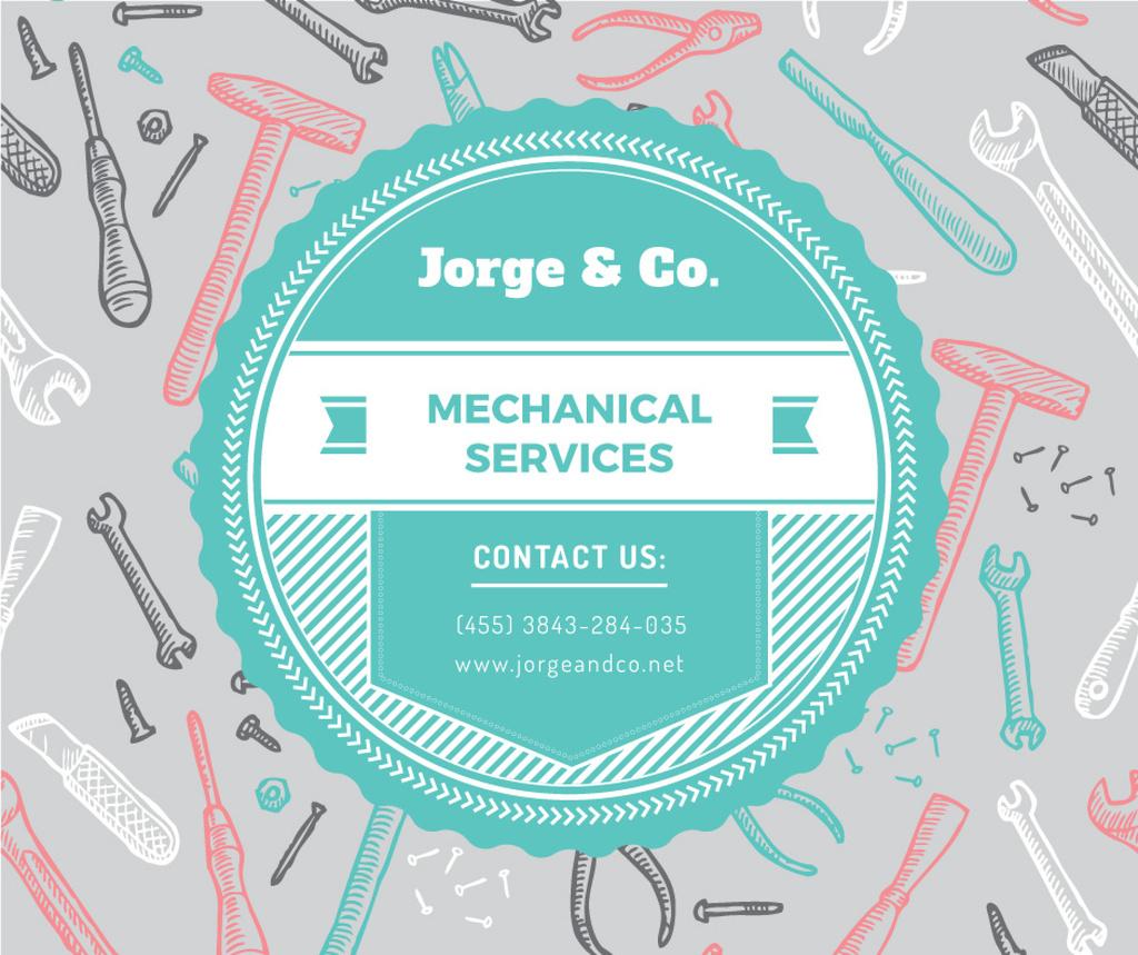 Mechanical services advertisement — Створити дизайн