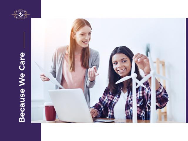 Business care Ad Presentation – шаблон для дизайна