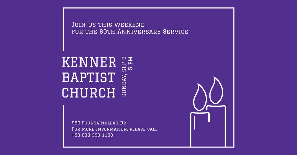 Kenner Baptist Church — Crear un diseño