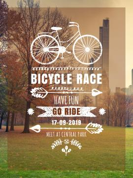 Bicycle race announcement
