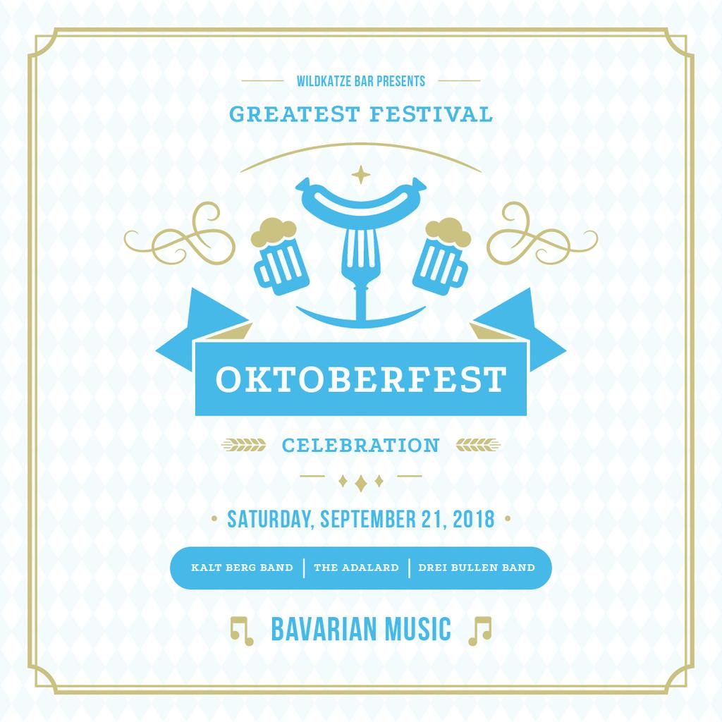 Traditional Oktoberfest treat — Create a Design