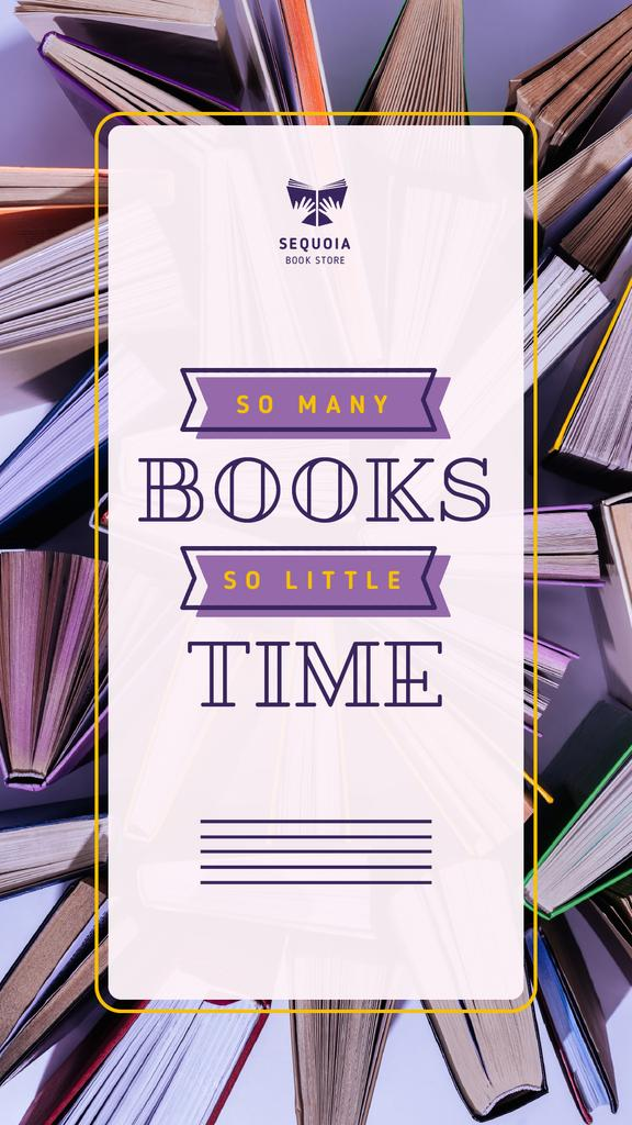 Book Store Promotion Books in Purple — Crear un diseño