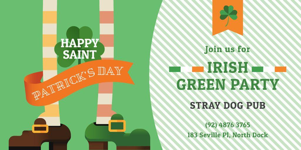 Green Party Annoucement on St.Patricks Day - Bir Tasarım Oluşturun