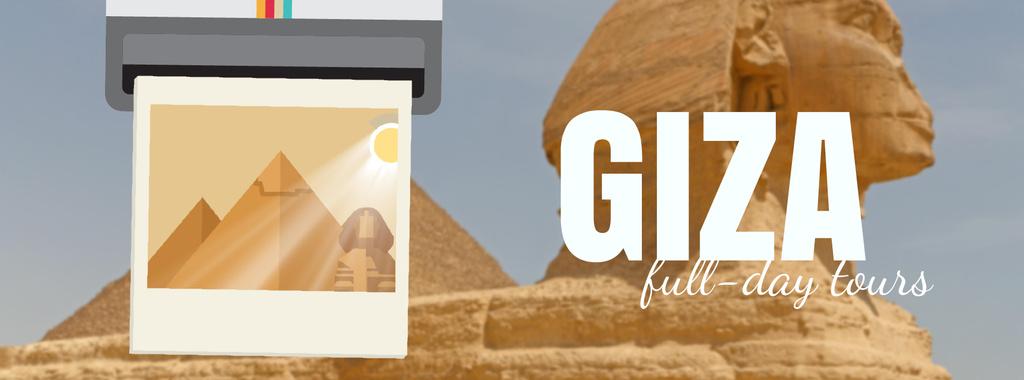 Giza Pyramids and Sphinx — ein Design erstellen