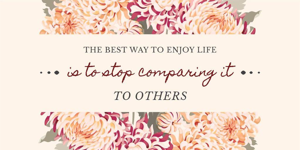 Plantilla de diseño de Motivational quote poster Image