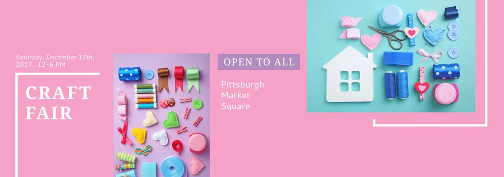 Craft fair in Pittsburgh — Créer un visuel