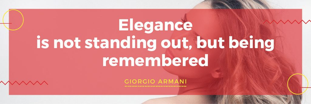 Citation about Elegance being remembered — Crear un diseño