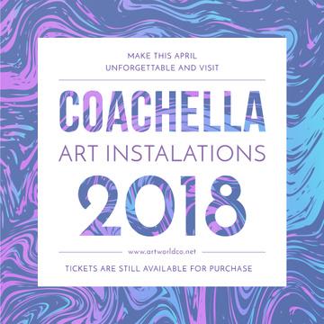 Coachella festival art installation