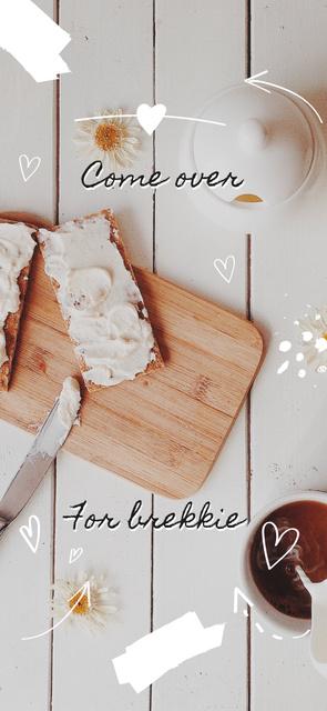 Delicious Breakfast offer Snapchat Geofilter Modelo de Design