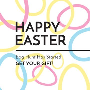Egg Hunt Offer with rotating Easter Eggs