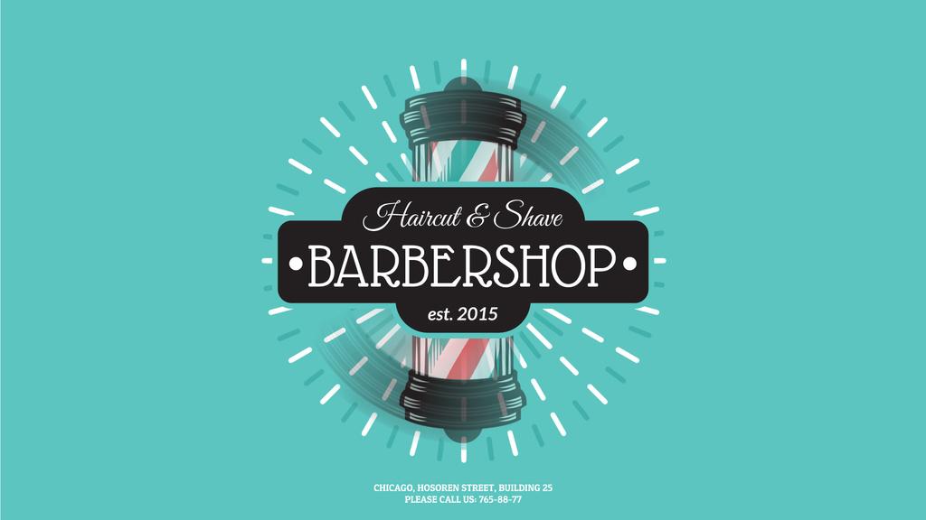 Barbershop Striped Lamp — Створити дизайн