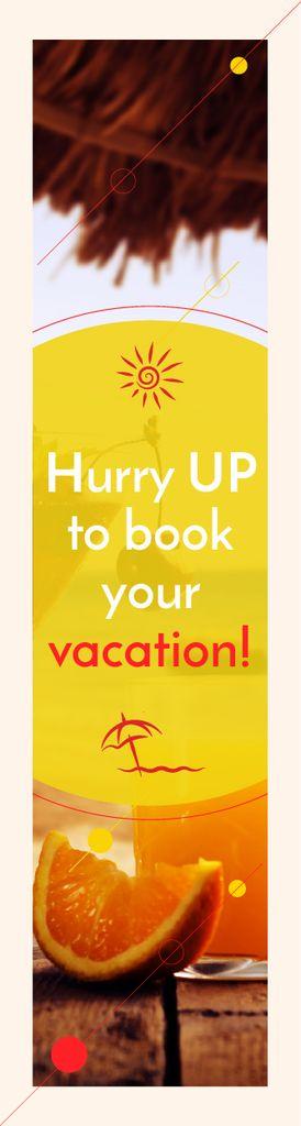 Summer vacation poster — Створити дизайн