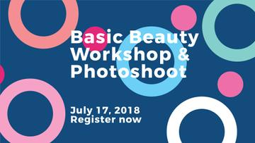 Basic beauty workshop and photoshoot