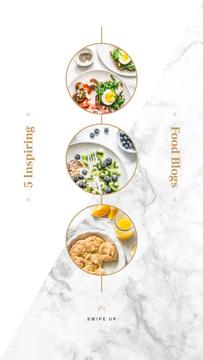 Set of healthy meals