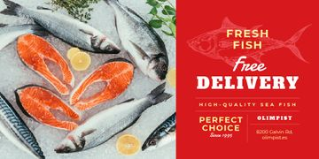 Food Delivery Services Fresh Raw Fish