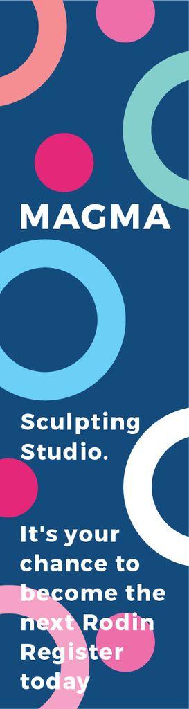Sculpting studio poster — Створити дизайн