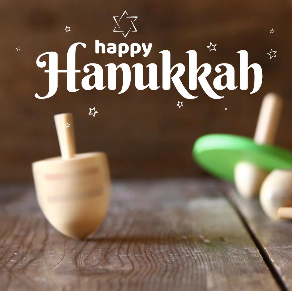Happy Hanukkah dreidel — ein Design erstellen