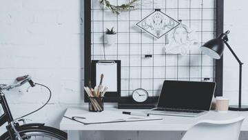 Modern Home Workplace Interior