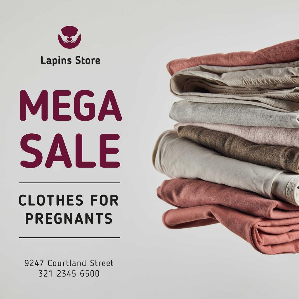 Clothes Sale for Pregnants — Створити дизайн