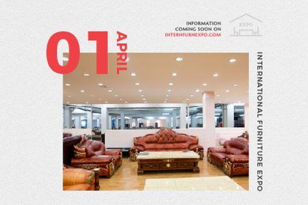 Plantilla de diseño de International Furniture Expo Gift Certificate