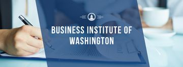 Business institute of Washington poster