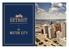 Detroit city view