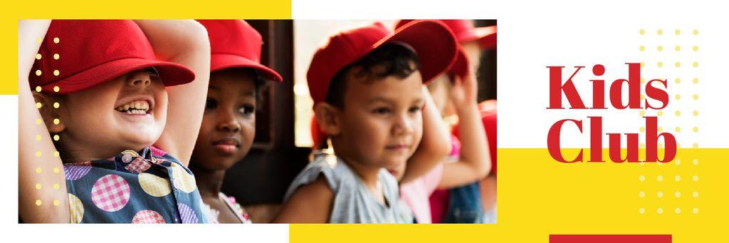 Happy little kids — Create a Design