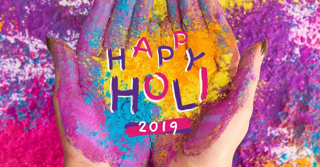 Indian Holi festival celebration — Maak een ontwerp