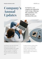 Company Annual Updates