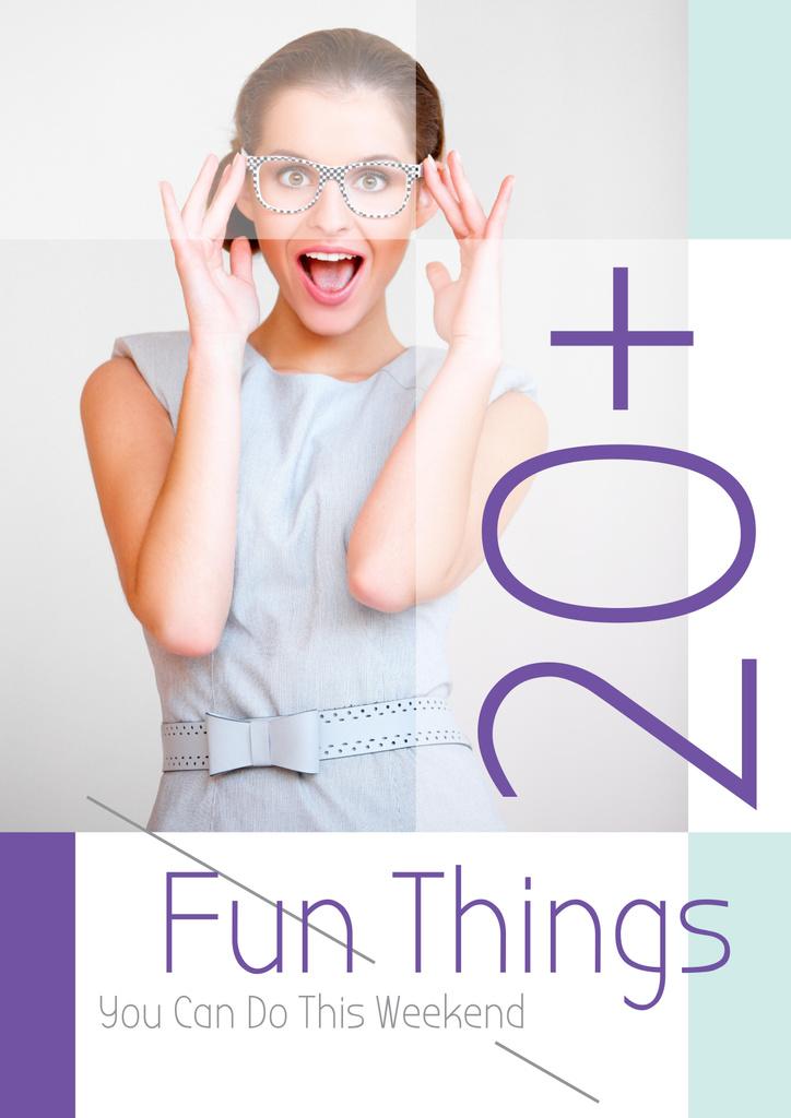 Fun things poster — Modelo de projeto