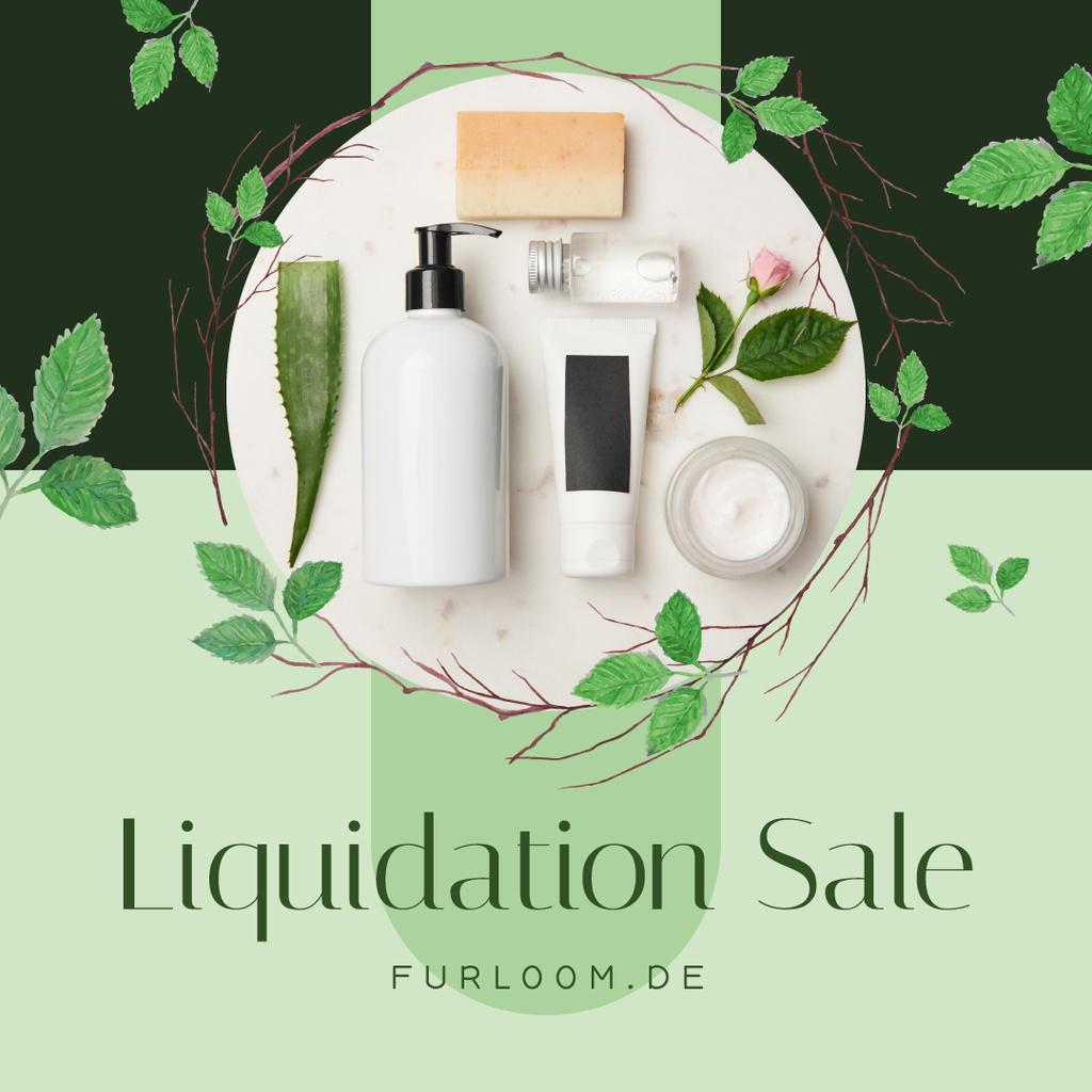 Cosmetics Offer Natural Skincare Products — Создать дизайн