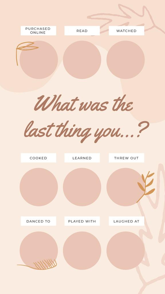 Checkbox with last thing in pink — Створити дизайн