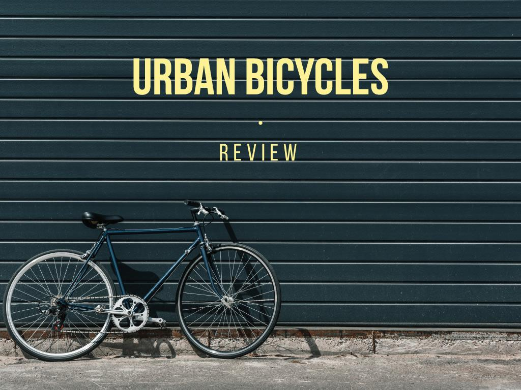 Review of urban bicycles — Maak een ontwerp