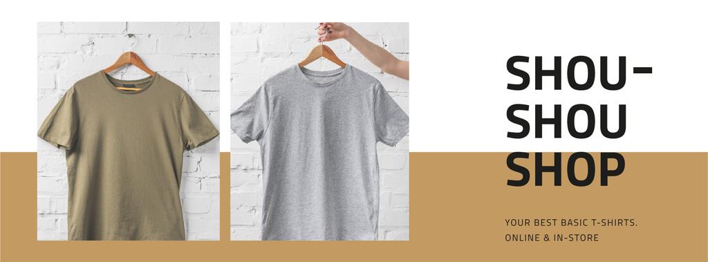 Clothes Store Sale Basic T-shirts — Crea un design