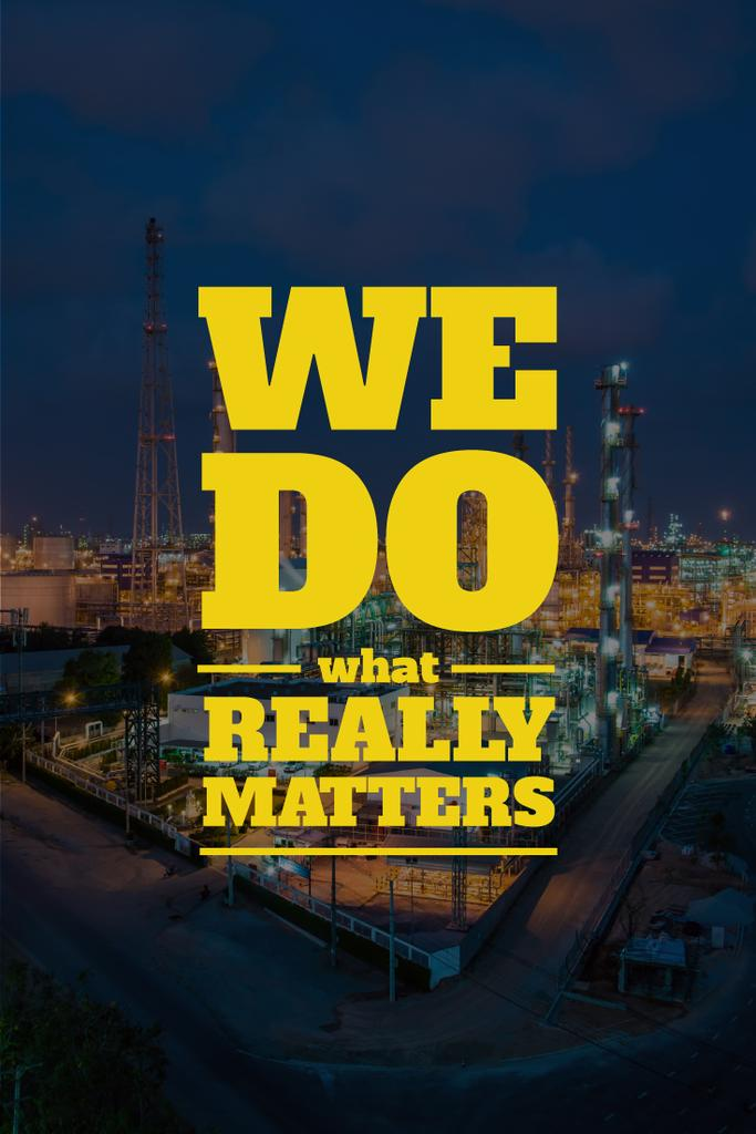 we do  what really matters banner — Create a Design